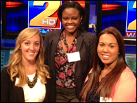 Three Students Participate in WFMY's Broadcast Development Program