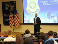 HPU Alumnus Working For U.S. State Department Gives Career Presentation To Students