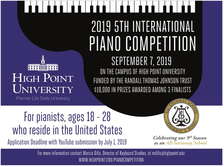 HIGH POINT UNIVERSITY PIANO COMPETITION | High Point