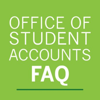 Student Accounts FAQ