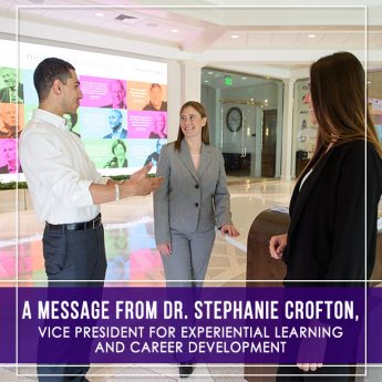 A Message from Dr. Stephanie Crofton on the Common Experience