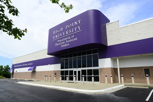 Photo of High Point University PT/PA Building