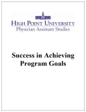 Success in Achieving Program Goals