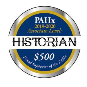 Silver Historian PAHx Associate Seal 2019 2020