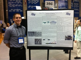 Jacob Brooks, National Conference on Undergraduate Research 2014