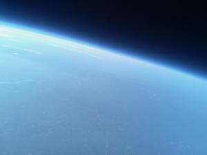 Earth from PYPTUG balloon.