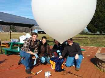 Zack Hutchens Launches High Altitude Balloon