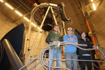 Students Contribute to Astrophysics Publication