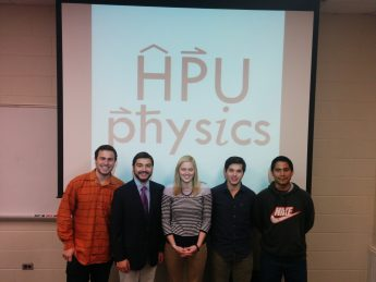PHY 4000 Presentations — Fall 2015