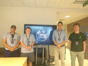 Astronomy Research Students Present in Kraków, Poland
