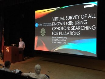 Students Present at 2016 NC Astronomers' Meeting