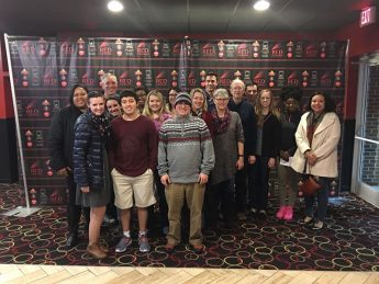 SPS Trip to Watch Hidden Figures