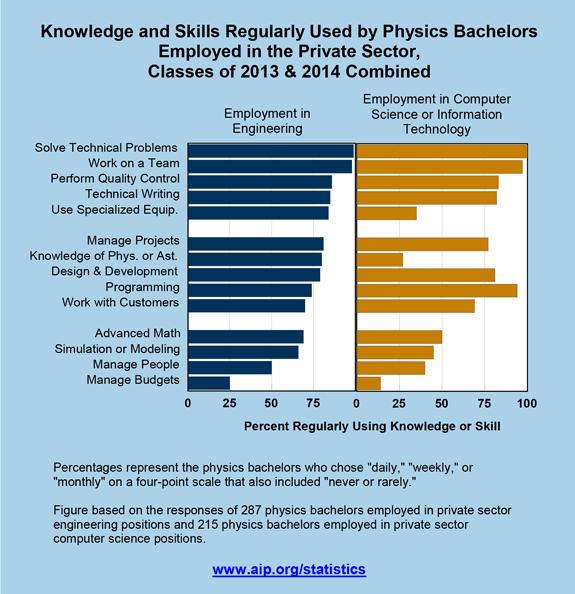 aip bs knowledgeskillsused