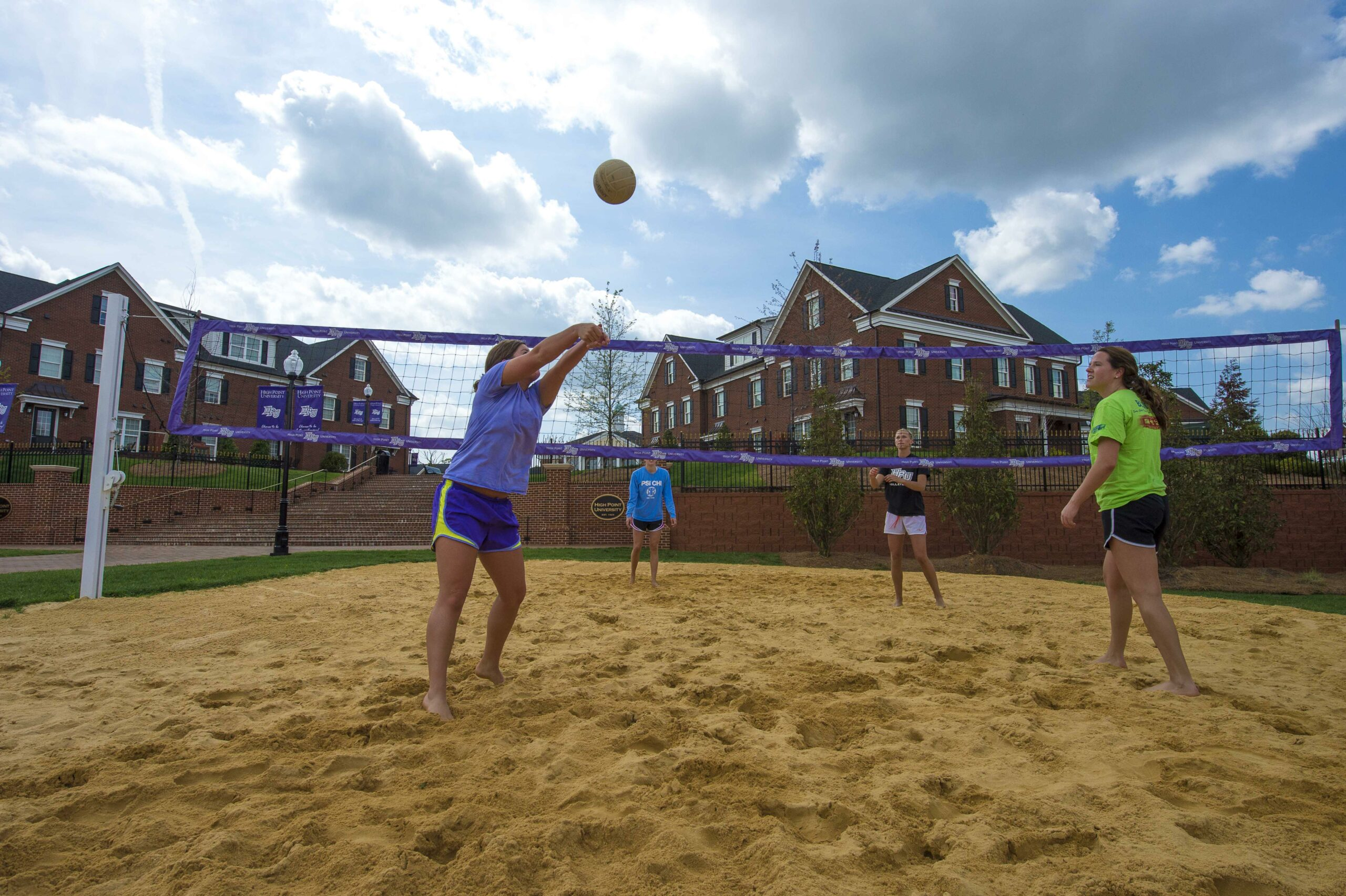Outdoor Volleyball HPU campus