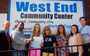 West End Donation