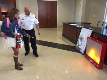 Hands-on Fire Extinguisher Training