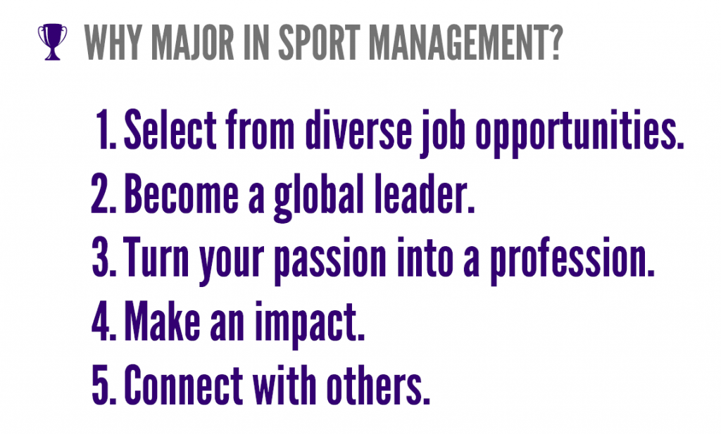 Sport Management | High Point University | High Point, NC
