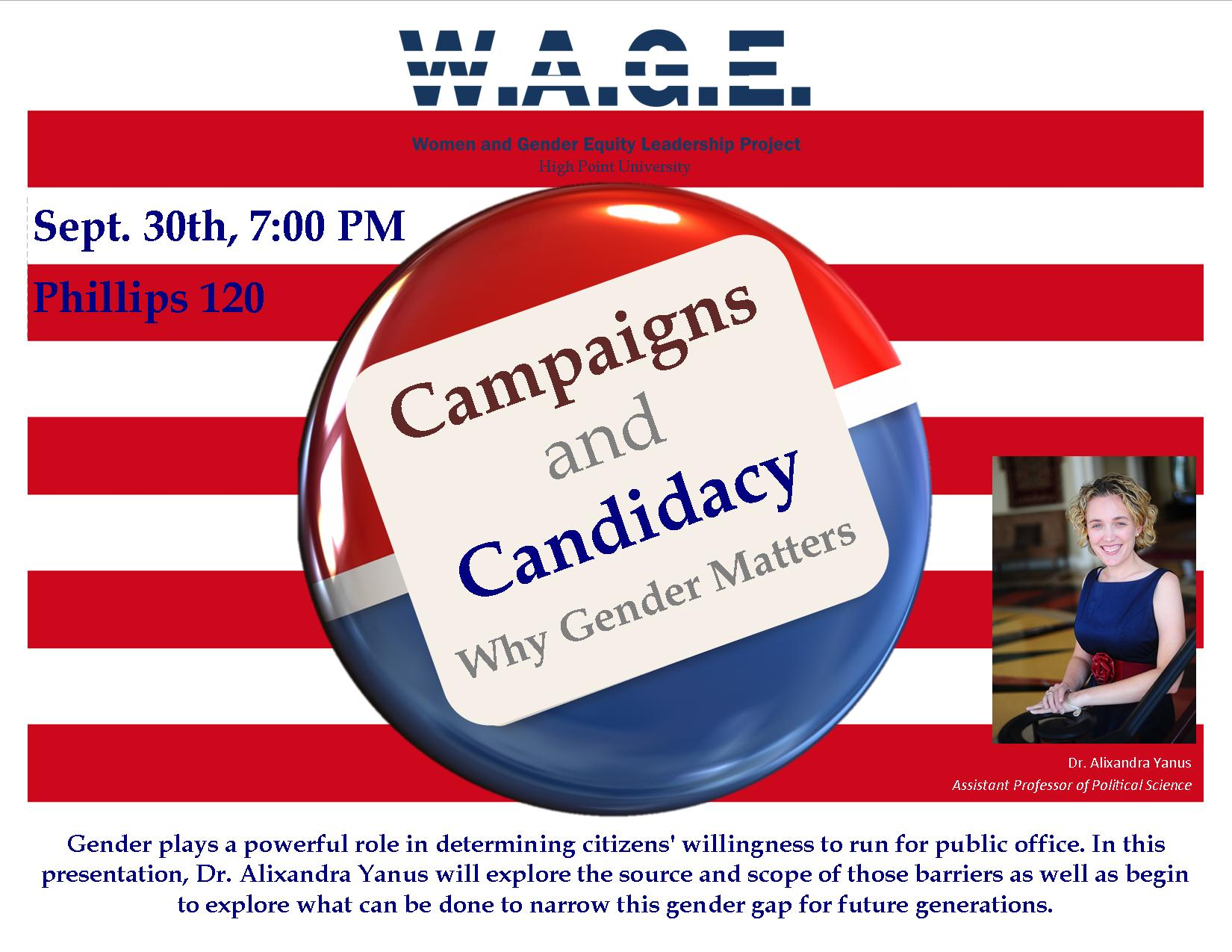 Campaigns and Candidacy