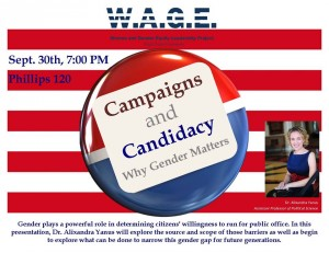 Flyer for WAGE Campaigns and Candidacy