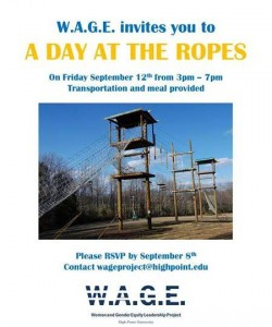 The Wage at the Ropes Flyer
