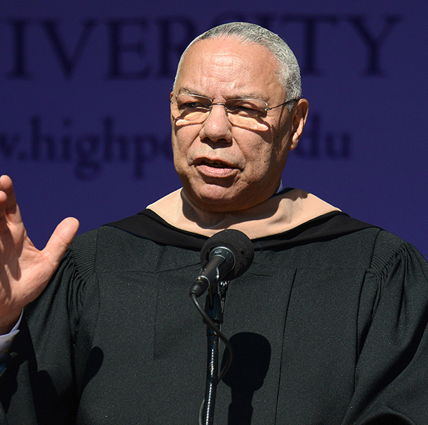 Gen. Colin Powell, former secretary of state, chairman of the Joint Chiefs of Staff and national security advisor