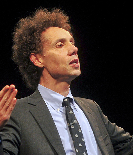 Malcolm Gladwell, bestselling author and one of Time Magazine's 100 Most Influential People
