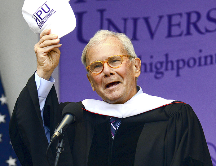 Tom Brokaw, distinguished journalist, Presidential Medal of Freedom recipient and retired NBC Nightly News managing editor and anchor