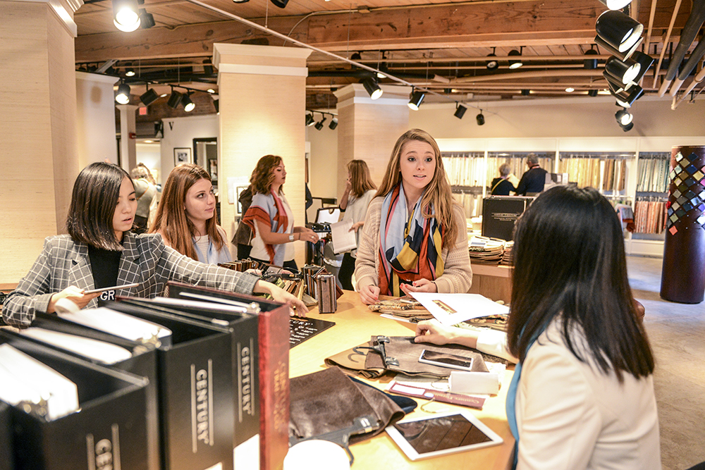 High Point Furniture Market Is Learning Lab For Students High Point Universi