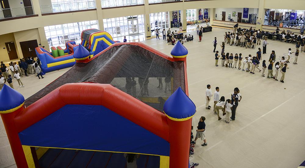 Montlieu Academy Honor Roll Students Enjoy Hpu Fall