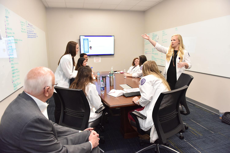 NC Legislators Visit HPU's Physician Assistant Program