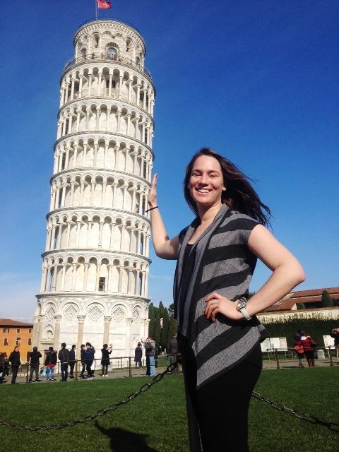 Holly Gambrell - Pisa, Italy