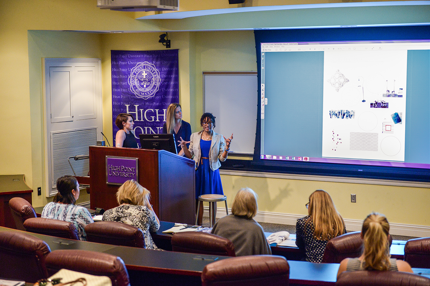 This week in photos april 23 29 high point university - Interior design internships houston ...