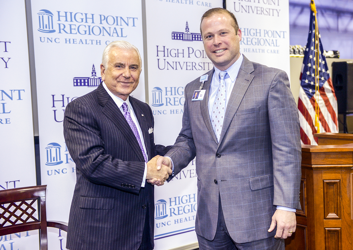 On Wednesday, HPU and High Point Regional Hospital announced the partnered creation of the Community Rehabilitation Clinic – a clinic that will treat community members with a variety of physical therapy and rehabilitation needs.