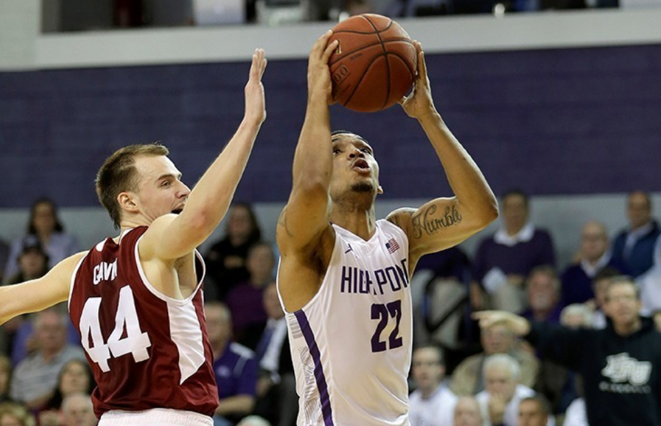 The men's basketball team defeated Winthrop 87-85 Thursday night in a game televised on ESPNU.