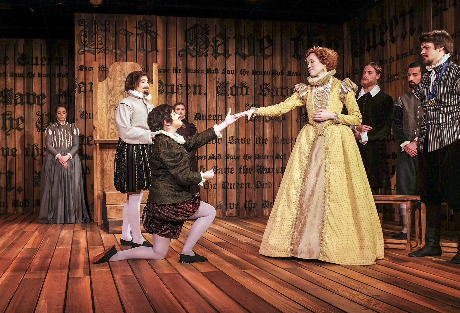 """The Department of Theatre and Dance put on multiple performances of """"Mary Stuart,"""" a play that brings to life an imagined meeting between Mary Queen of Scots and Queen Elizabeth I."""